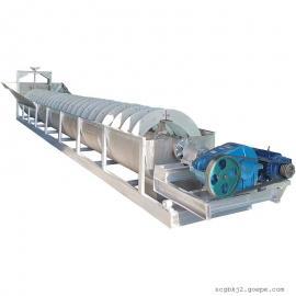 国邦YS-1000不锈钢螺旋洗砂机 高效单螺旋fen级机 防腐蚀洗沙设备sheng产线