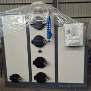 金锅热销渔网加工用蒸发器 新型全自动燃颗粒生物质蒸汽发生器卧式