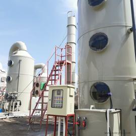 废气工业酸碱处理设备活性炭吸附装置喷淋塔净化处理5000m3/h