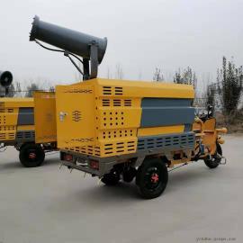 恒达电动三轮高压清洗消毒车 小型高压冲洗车HDQX