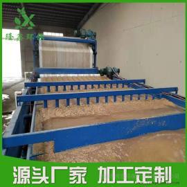 洗沙行业带式压滤机 水洗沙污水处理设备 耗能小 工厂优选-隆鑫环保
