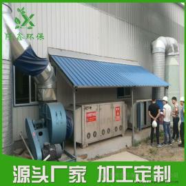 喷漆房废气治理方案 烤漆房废气处理设备――隆鑫环保
