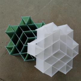 凯迪联环塑料六角内棱环填料新产品抗堵塞DN220*100