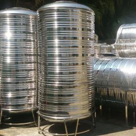 不锈钢水塔、不锈钢圆形水箱