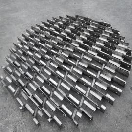 凯迪新型格栅格里奇支撑填料不锈钢通量大按客户要求制作