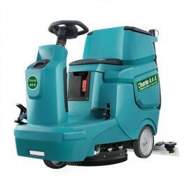 厂房仓库车间高效率洗地机小型驾驶式刷地车水满自动�;�洁乐美A5L