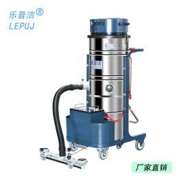 �zhi战啵�LEPUJ)da功率锂电池工业吸尘器工chang车间用手推式粉尘wu线电瓶吸�yi�LP100T