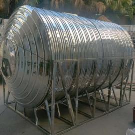 不锈钢圆形水箱 保温水箱