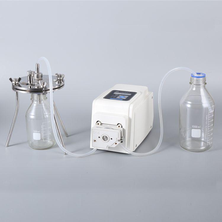 圣斯特sciencetool 不锈钢平板除菌除杂质可换膜蠕动泵过滤系统PF-2150