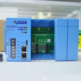 ADVANTECH研�AADAM-5560KW�程PLC控制器模�K