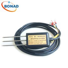 博纳德BND土壤水分仪0-2V/4-20mA/RS485输出接口水分测量MEC-10
