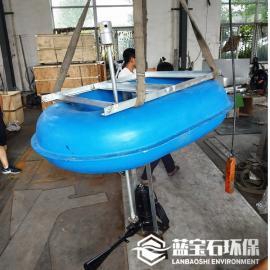 射流曝气循环泵 漂浮式曝气机FQSB1.5蓝宝石
