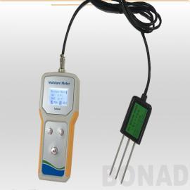 博纳德现货水分速测仪土壤传感器温度电导率测定仪农业产品检测TaKeme-10EC