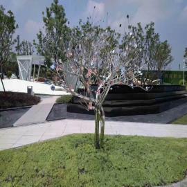 戈雅雕塑园林雕塑不锈钢树雕塑定制