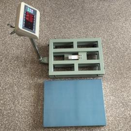 佳he衡器60公斤碳钢喷塑台秤 60kgke连电脑计zhong电子台称