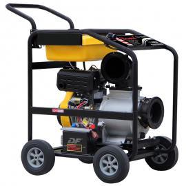 君东动力防汛6寸便携式柴油机排水泵 移动式小型柴油机水泵 自吸式离心泵DP60ET
