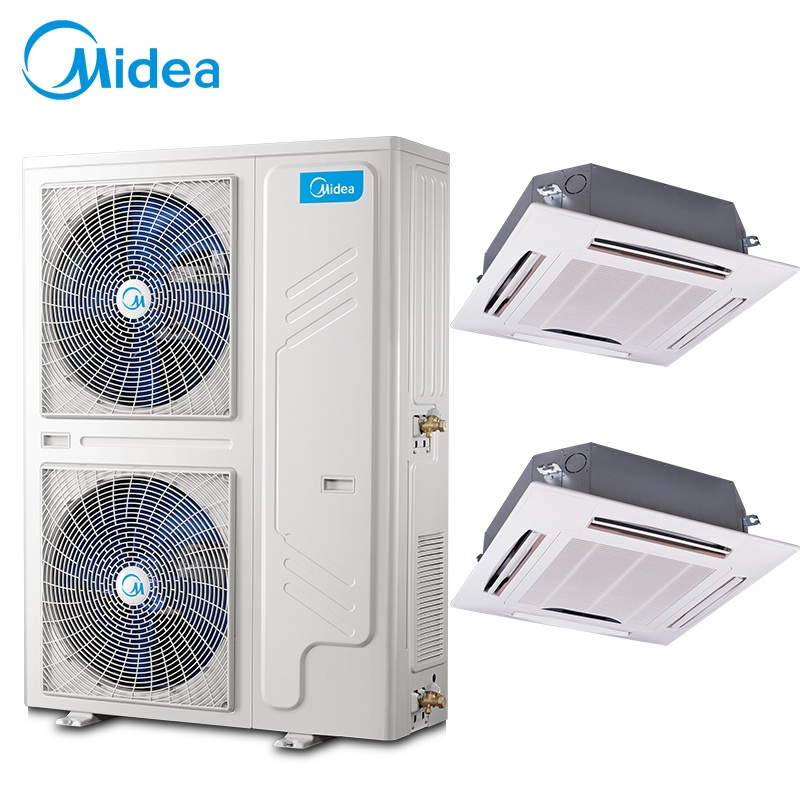 Midea(美的)美的商用中央空调一拖二 美的变频天花机 美的嵌入式吸顶机MDV-250W/SN1-8R1