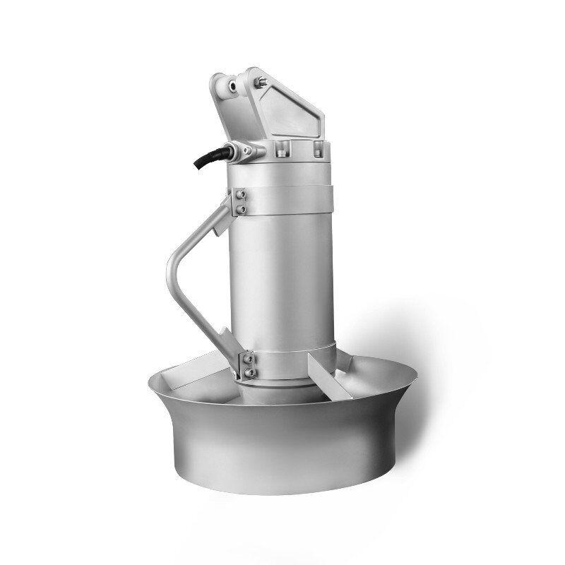 凯普德潜水搅拌机选型与安装布置QJB7.5 /12-620/3-480