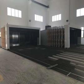 移动式伸缩喷漆室工业环保移动伸缩房