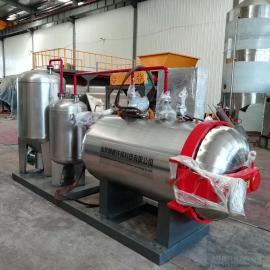 翰德猪屠宰场废弃物无害化处理设备 各种畜禽尸体不锈钢湿化机HDXHJ-300