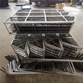凯迪金属折流板吸收塔除沫器塔内捕雾器抗堵塞按客户标准制作