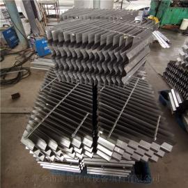 凯迪304波板除雾器不锈钢折流板气液分离装置按客户标准制作