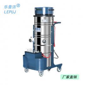 �zhi战啵�LEPUJ)锂电池手推式吸zhuang修粉尘da磨工业用da容量100L工业吸尘器LP100