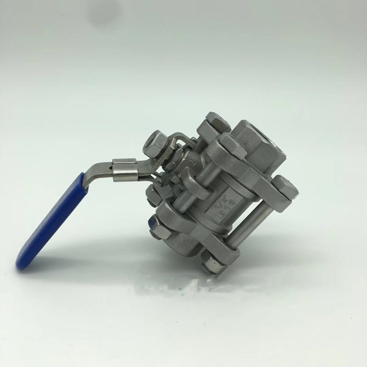 瑞通不锈钢一片式内螺纹球阀Q11F 1PC