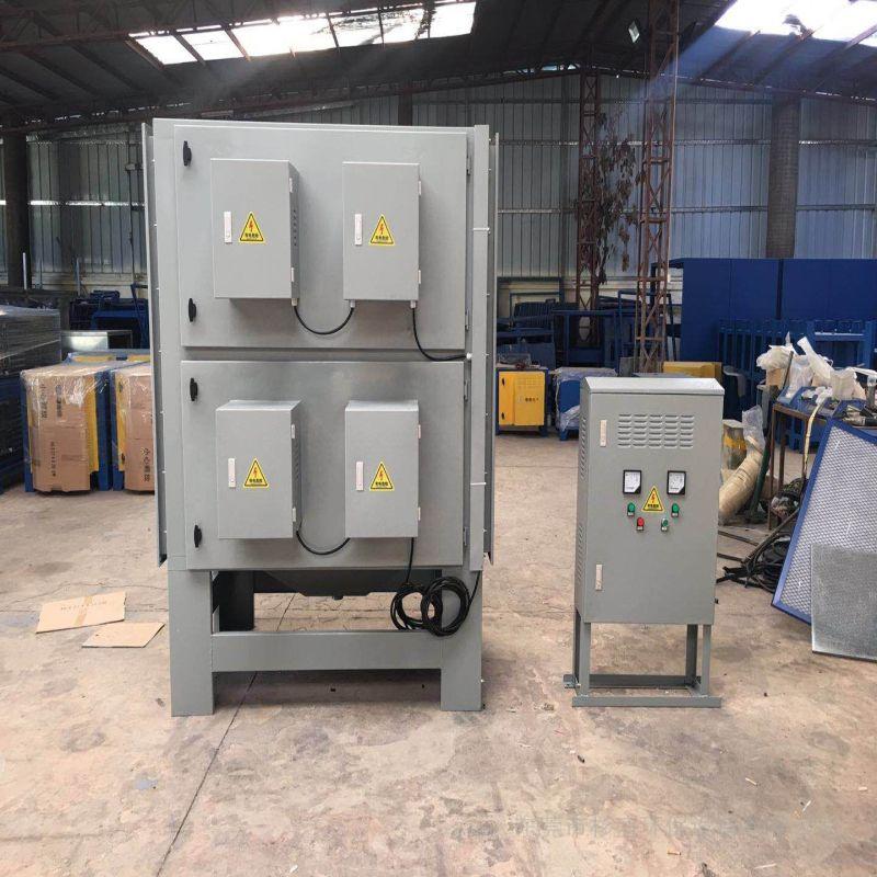 杉盛绿源小湿电油烟处理设备AG官方下载、压延油烟治理工程SSJD-5K