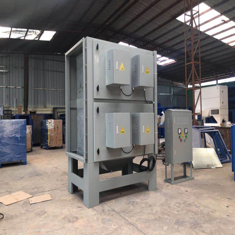杉盛绿源小湿电油烟处理设备AG官方下载AG官方下载、压延油烟治理工程SSJD-5K