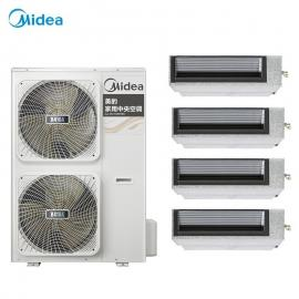 美的(MIDEA)美的户式多联机一拖三一拖四一拖五 美的中央空调家用家庭系列MDVH-V120W/N1