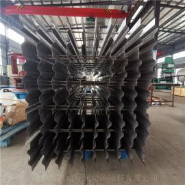 凯迪塔顶金属折流板塔内件除沫除雾装置效率高按客户标准制作