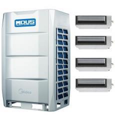 Midea(美的)美的中央空调商用多联机VRV一拖七八九 美的变频风管机MDV-560W/D2SN1