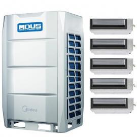 Midea(美的)美的中央空调商用多联机一拖五六七 美的空调30匹外机MDV-850(30)W/D2SN1-8X1