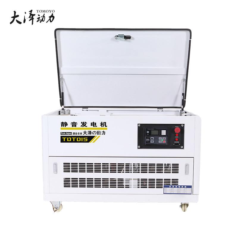 大泽动力10千瓦静音汽油发电机双电压TOTO10
