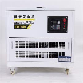 大泽动力15千瓦汽油发电机TOTO15
