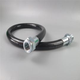 依客思BNG-DN50*500防爆橡胶挠性管,一内一外防爆软管