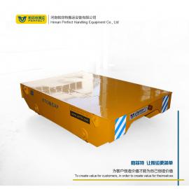帕菲特焊装件电动轨道平车 搬运机械半成品设备电动轨道平板车BXC