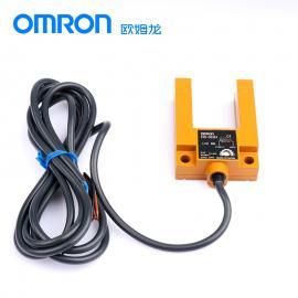 欧姆龙E3S-GS3E4原装正品OMRONU型光电开关传感器NPN电梯感应开关