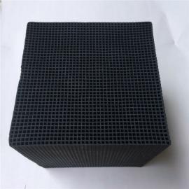 鸿生耐水 工厂废气处理 喷漆房尾气 厨房油烟处理 蜂窝活性炭100*100*100