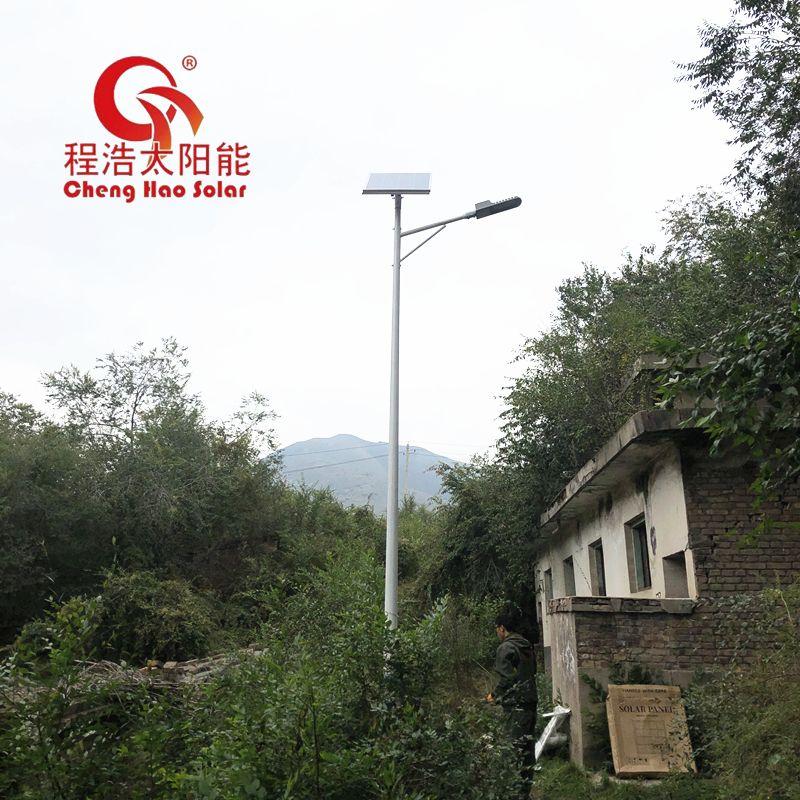 程浩西北太阳能路灯厂 6米 9米 12米 10米路灯杆CH-LD-6M