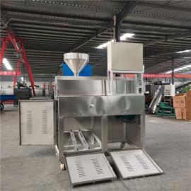 圣泰土豆淀粉粉丝生产设备 全自动红薯粉条加工机 操作视频6FT-40