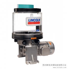 mei国lin肯lin肯电动干油zhu塞泵 LINCOLN电动油脂P205