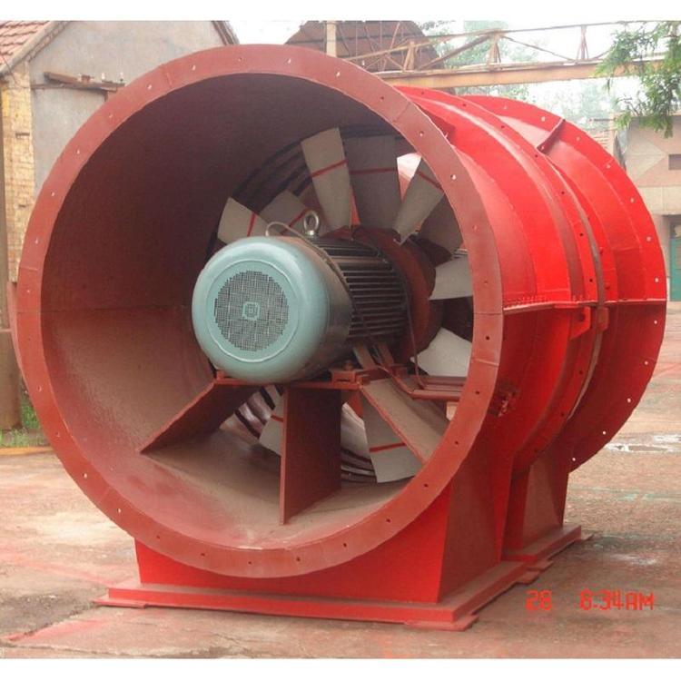 云笑BDK54-6-19对旋轴流矿用风机