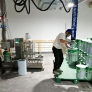 汉尔得30kg涂料铁桶搬运码垛吸盘、适用于油漆公司搬运码垛VCL120B