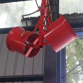 传正塔吊喷雾机倒挂式雾炮20米、30米、40米