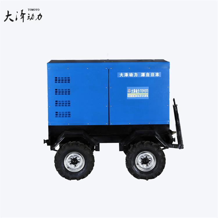 大泽动力油田采购600A柴油发电电焊一体机TO600A