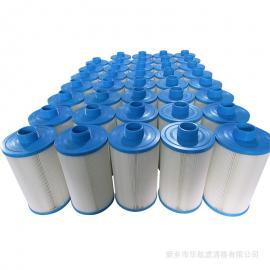 HHLQQ游泳池滤芯125*228 泳池泵过滤芯定制