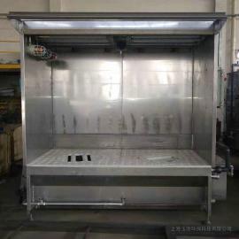 玉澄湿式原理设计防爆型型轮毂打磨工作台YCE200