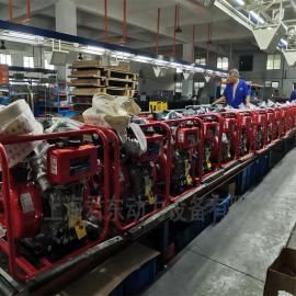 君东动力3寸柴油机水泵柴油高压自吸泵消防洒水泵防汛应急泵远程输水 HDP30E